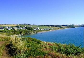 Baie de Douarnenez camping bord de mer Bretagne Finistere sud