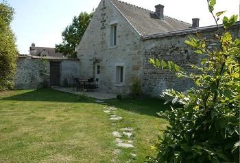 Les hublots -location de vacances- Avernes - Vexin - Ile de France: Un petit coin de verdure à 1 heure de Paris
