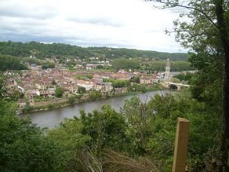 Gîte en Périgord pour 4 pesonnes avec vue sur la Dordogne